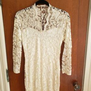 Asos Long Sleeve Lace Dress